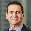 A portrait photograph of Brambles' Non-Executive Director, George El-Zoghbi