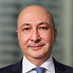 A portrait photograph of Brambles' Senior Vice President, Global Supply Chain, Carmelo Alonso-Bernaola
