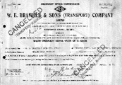 A black and white image of an old document