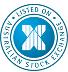 Image logo of the 'Listed on Australian Stock Exchange'