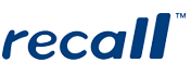 An image of the Recall logo